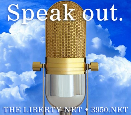 Liberty Net - gold-microphone