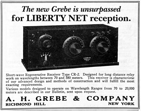 Liberty Net - Grebe receiver