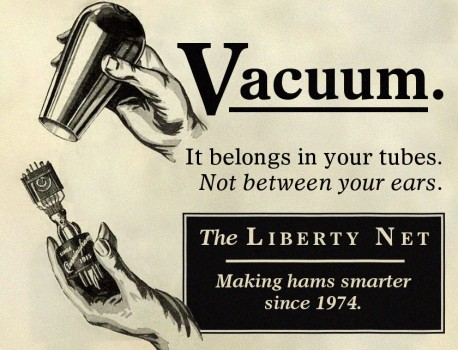 Liberty Net - vacuum tube